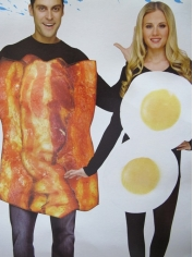Bacon and Eggs - Party Costumes