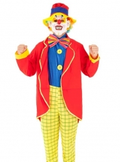 Complete Clown Adult Costume