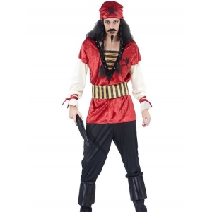 Adult Caribbean Pirate - Mens Costumes
