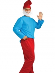 Blue Gnome Father - Mens Costumes