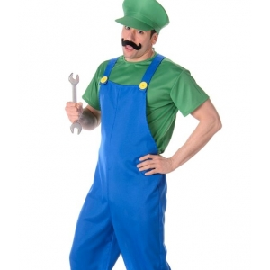 Green Plumber Guy - Mens Costumes