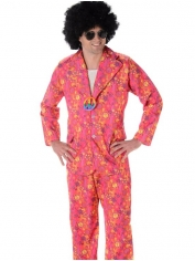 Pink Funky Suit - Men 60's 70's Costumes