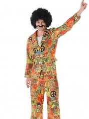 Hippie Suit - Men 60's 70's Costumes