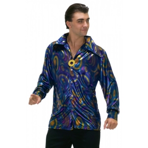 70s Man Disco Shirt - Adult Mens Costumes