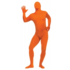 Orange Skin Suit - Men's Costumes