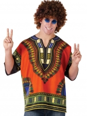 Dashiki Shirt - Men Hippie Costumes