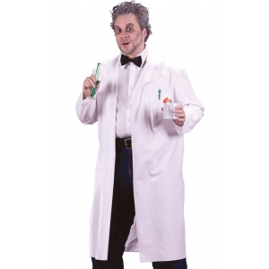 Long Doctor Lab Coat - Mens Costumes