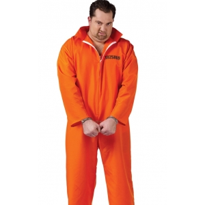 Got Busted Prisoner - Mens Costume
