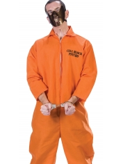Orange Prisoner - Mens Halloween Costumes
