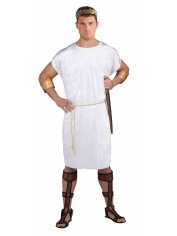 White Tunic with Belt - Mens Costumes
