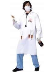 Adult Dr. Shots Doctor Costume - Men Costumes