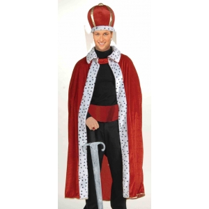 King Robe and Crown - Mens Costumes