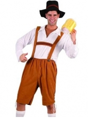 Bavarian Beer Man Oktoberfest Costume