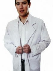 Adult Long Lab Coat - Mens Costumes