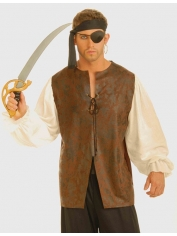 Pirate Shirt Brown - Pirate Costumes