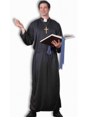 Priest Mens Costume