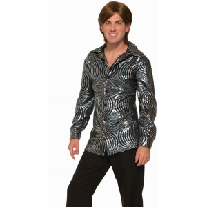 BOOGIE DOWN SHIRT - 70's Disco Costumes