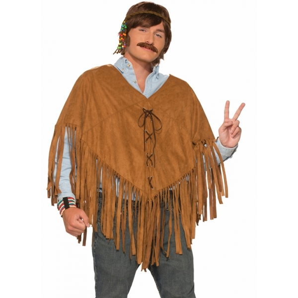 Hippie Poncho With Fringes Buy Online Cheap