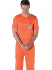 Mens Orange Prisoner Costumes