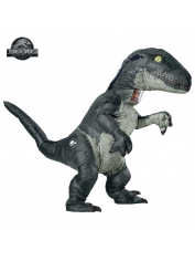 Velociraptor Blue Inflatable - Adult Costumes