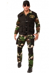 Seal Team 3 - Men's Army Costume