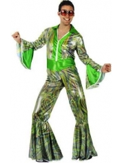 Adult 70's Disco Jumpsuit - 70's Disco Costumes