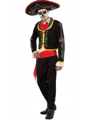 Day of The Dead Senor - Halloween Man Costumes