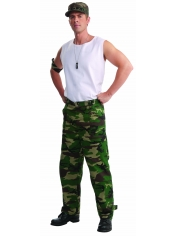 Camouflage Pants - Men's Army Costumes