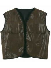 Brown Cowboy Vest - Men's Cowboy Costumes