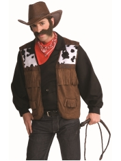 Wild West Cowboy Vest - Men's Cowboy Costumes