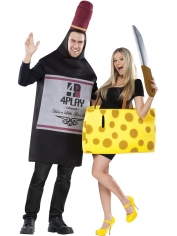Bottle and Cheese - Party Costumes