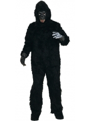 Gorilla Deluxe - Adult Mens Animal Costumes
