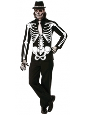 Skeleton Jacket - Halloween Man Costumes