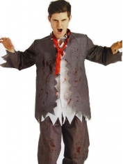 Zombie School Boy - Halloween Men Costumes