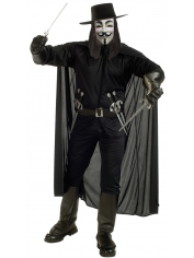 V For Vendetta - Halloween Men Costumes