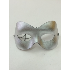 Metallic Silver Eye - Masquerade Masks