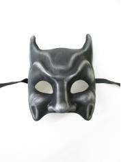 Dark Silver Bat Mask - Masquerade Masks