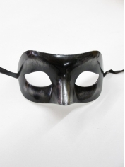 Metallic Black Eye - Masquerade Masks
