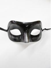 Metallic Black Eye - Masquerade Masks
