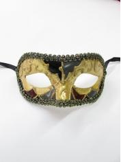Gold Black Print - Masquerade Masks