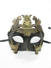 CAVALLI Centurion Black Gold - Masquerade Masks