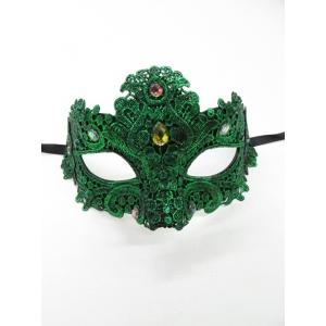 Green Lace Eye Mask - Masquerade Masks