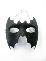 Black Bat Mask - Masquerade Masks