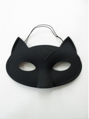 Black Cat Eye Mask - Masquerade Masks