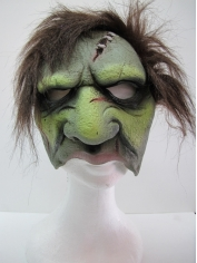 Ghoul w/Plush Hair Chinless Mask