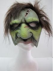 Ghoul w/Plush Hair Chinless Mask