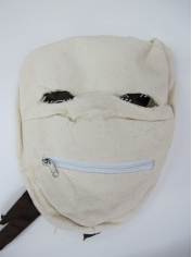 White Horror Mask