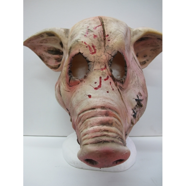 Pig Butcher Horror Latex Mask Scary by FxcaStudios on Etsy