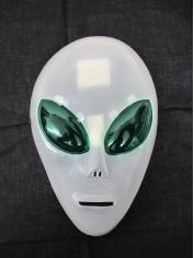 Plastic Alien Mask - Halloween Masks