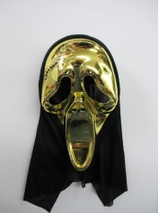 Gold Scream - Halloween Masks